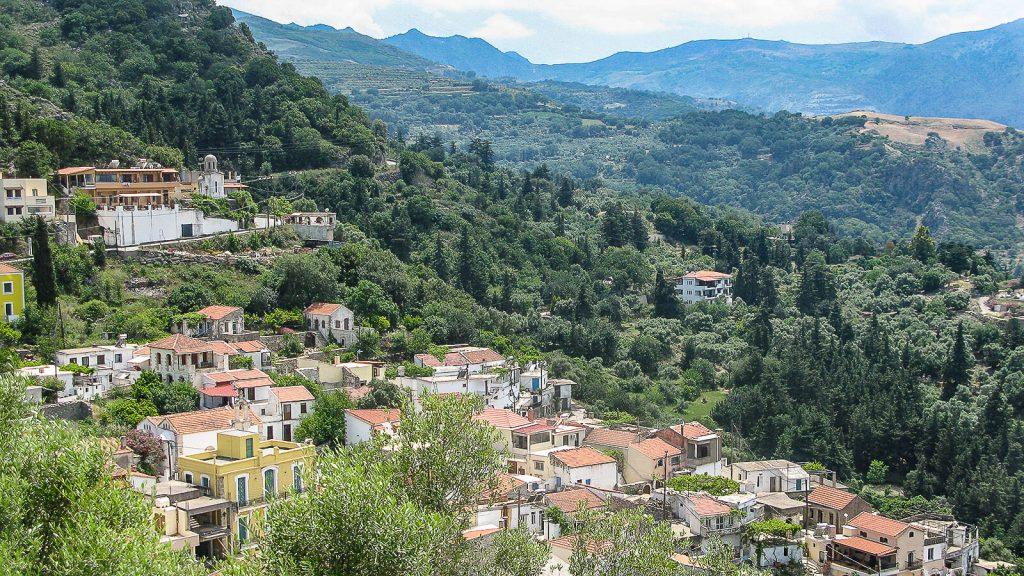 Argyrupolio (Argyroupoli) kaimas ir šaltiniai, Kreta, Graikija | Mano Kreta
