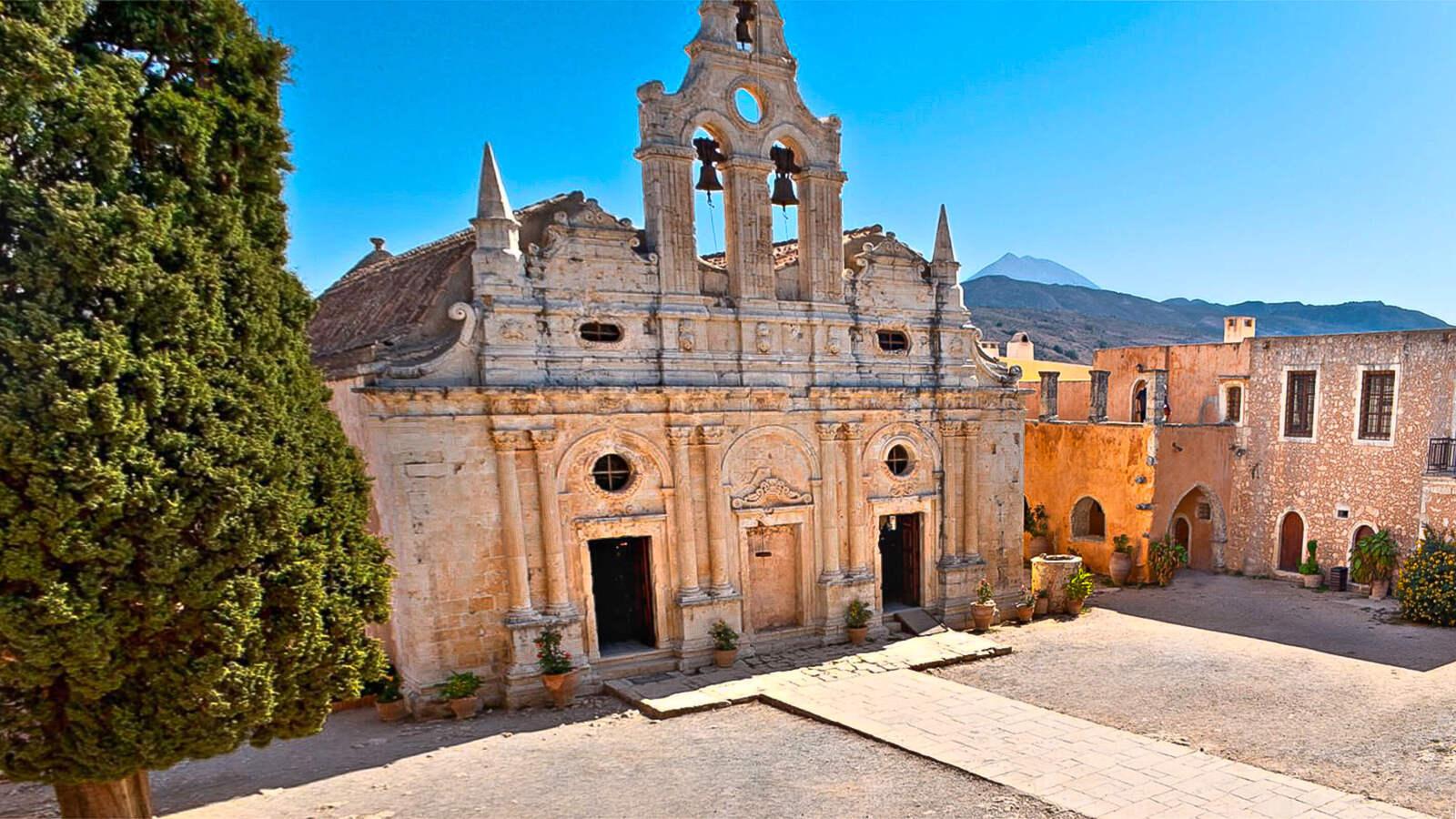 Arkadi vienuolynas, Kreta, Graikija | Mano Kreta