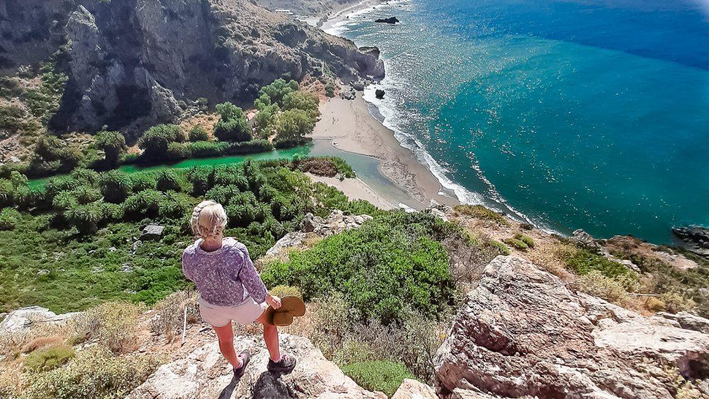 Preveli palmių paplūdimys, Kreta, Graikija | Mano Kreta