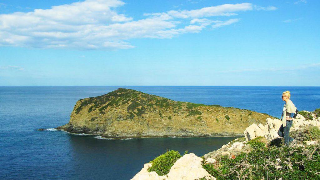 Glaros paplūdimiai. Kreta, Graikija   Mano Kreta