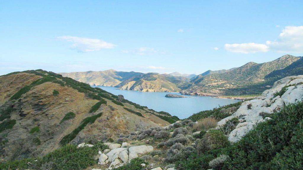 Glaros paplūdimiai. Takelis. Kreta, Graikija   Mano Kreta