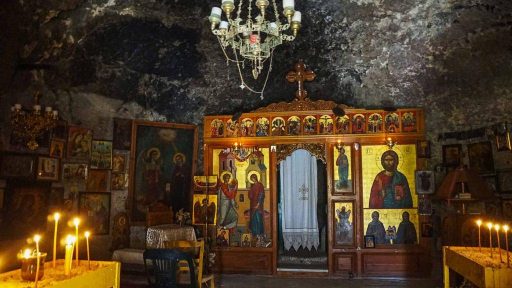 Martsalo slėnis Kretoje – pirmųjų krikščionių slėptuvė. Cerkvėje. Kreta, Graikija | Mano Kreta