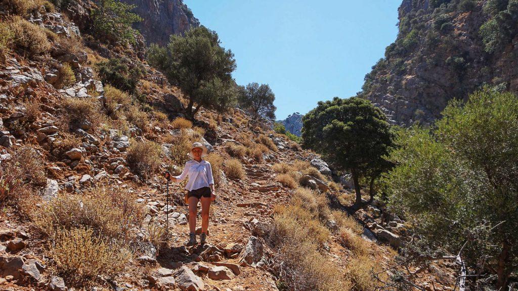 Roza tarpeklis – įspūdingų vaizdų medžiotojams. Takas. Kreta, Graikija | Mano Kreta
