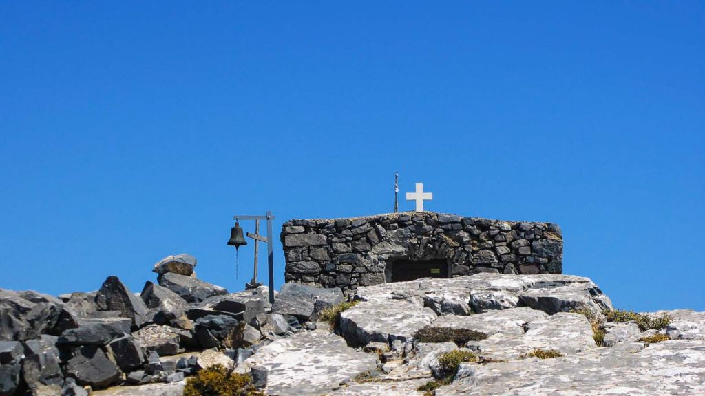 Timios Stavros ant Kofinas viršukalnės. Kreta, Graikija   Mano Kreta