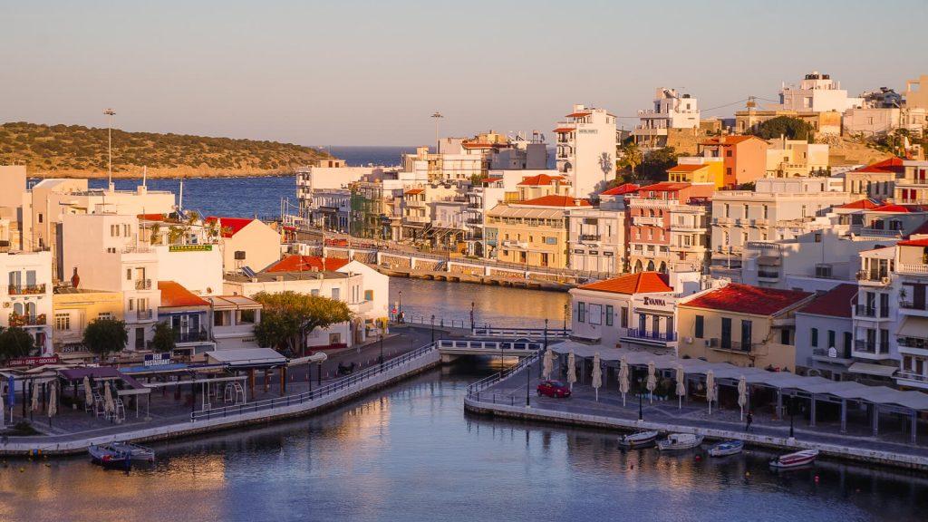 Agios Nikoalos kurortas. Kreta, Graikija | Mano Kreta