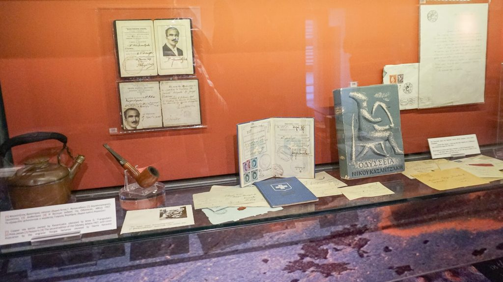 """N. Kazantzakio muziejus Myrtia. """"Odisėjos"""" tęsinio rašymo istorija. Kreta, Graikija   Mano Kreta"""