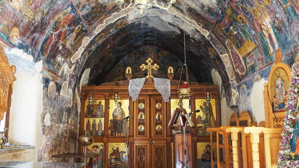 Panagia Vryomeni vienuolynas. Kreta, Graikija   Mano Kreta