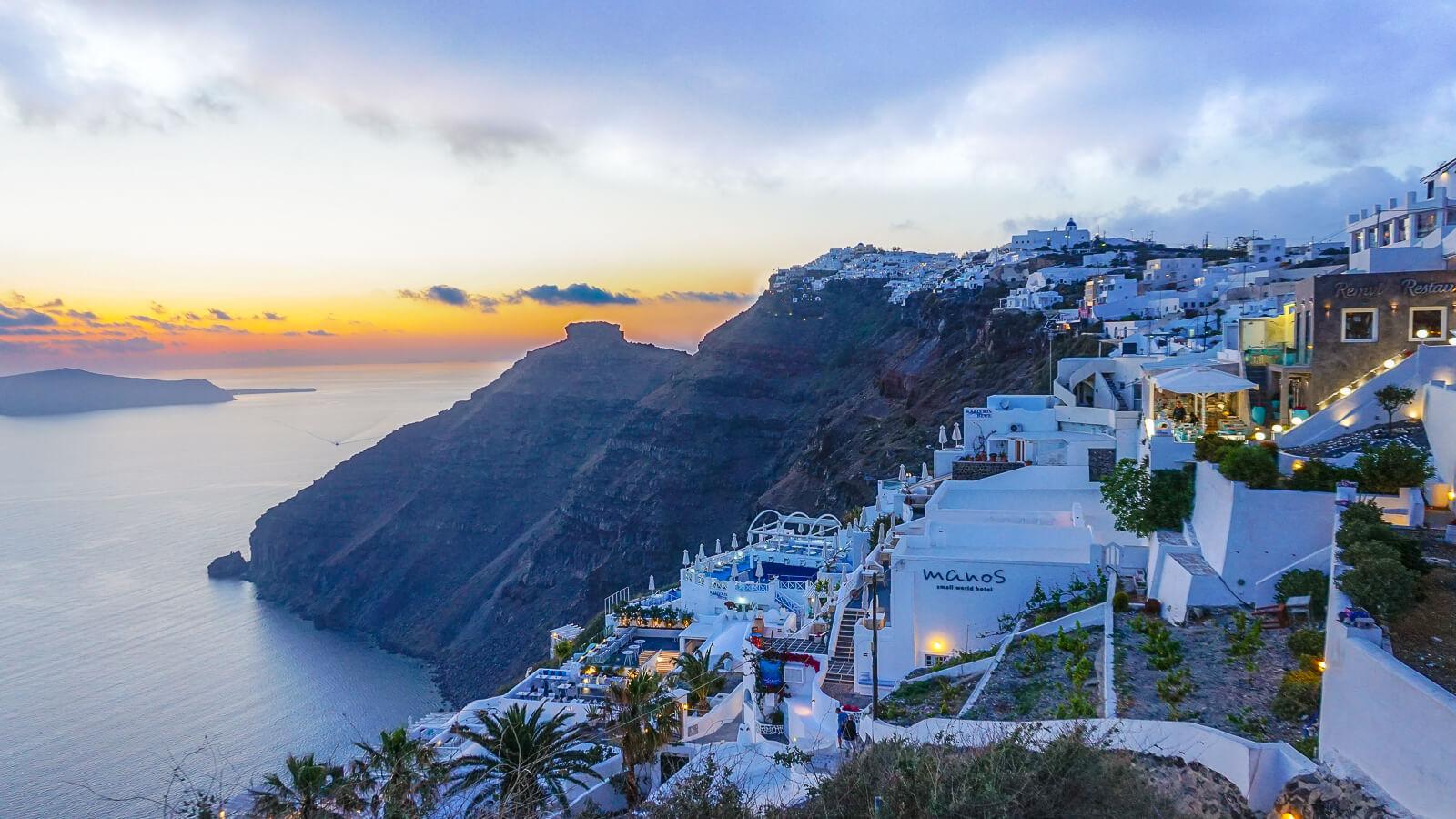 Santorinis: ekskursija iš Kretos dviem dienoms