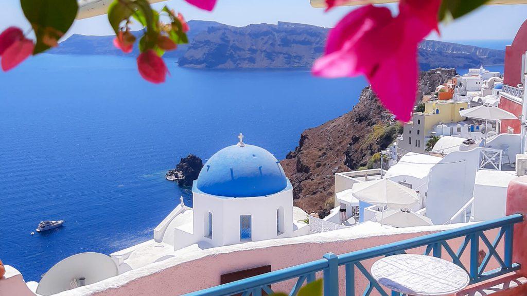 Santorinis vienos dienos ekskursija iš Kretos. Kreta, Graikija | Mano Kreta