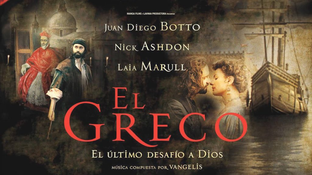 "Filmas ""El Greco, Dievo dailininkas""–""Ελ Γκρέκο, ο ζωγράφος του Θεού""   Mano Kreta"