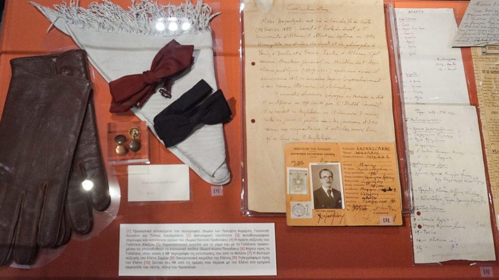 N. Kazantzakio muziejus Myrtia. Muziejuje saugomi Niko Kazantzakio asmeniniai daiktai. Kreta, Graikija   Mano Kreta