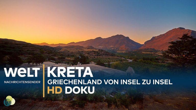 Puikus WELT filmas apie Kretą, jos dvasią ir jos žmones (vokiečių kalba). Kreta, Graikija | Mano Kreta