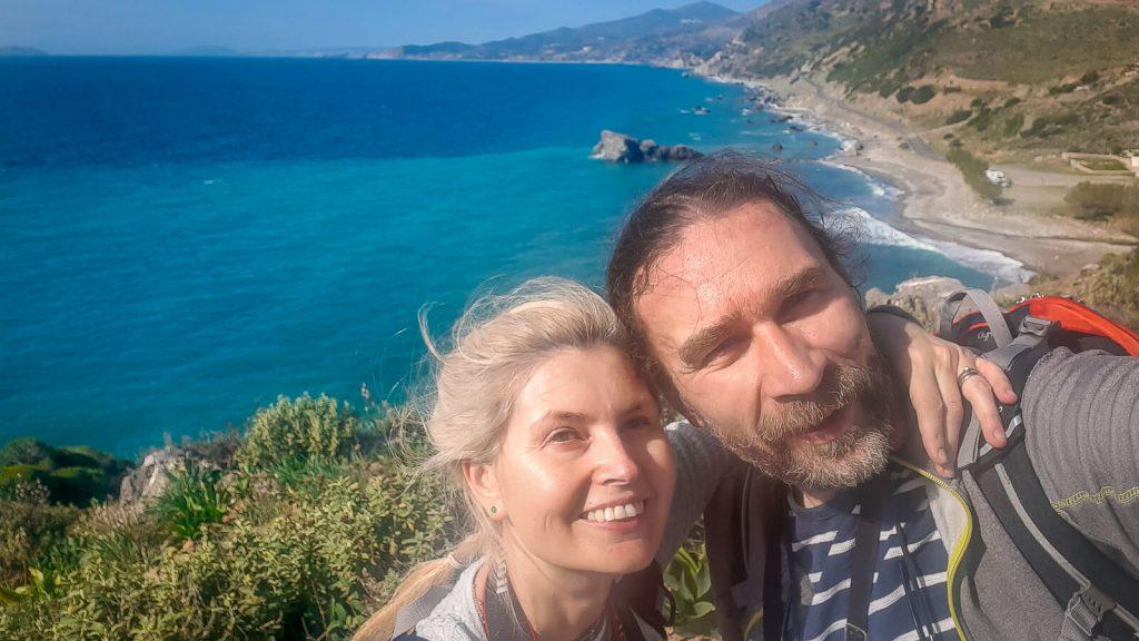 Audrius ir Jurgita MANO KRETA komanda. Kreta, Graikija | Mano Kreta