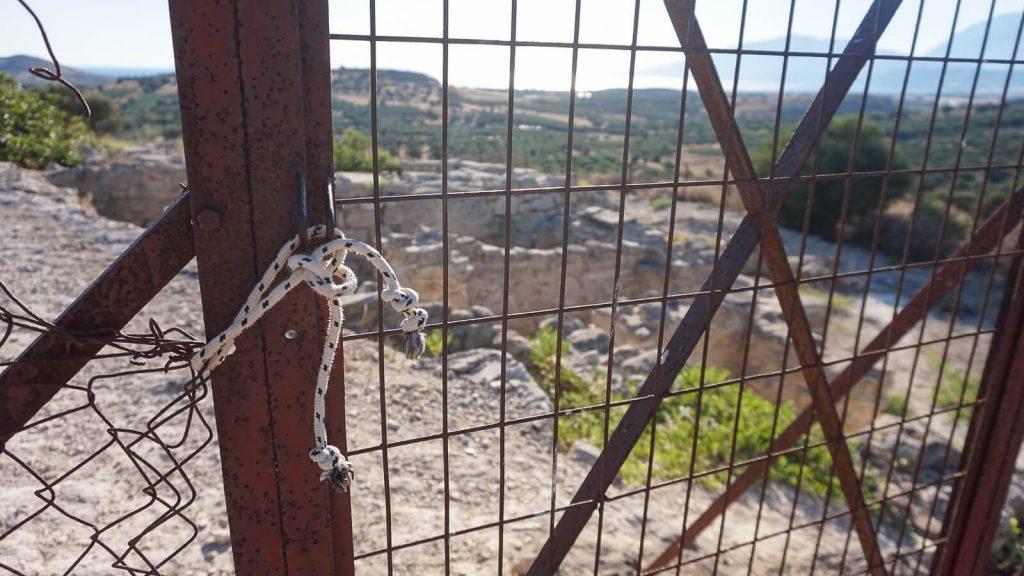 Nemasinė, bet unikali archeologinė vietovė. Kreta, Graikija | Mano Kreta