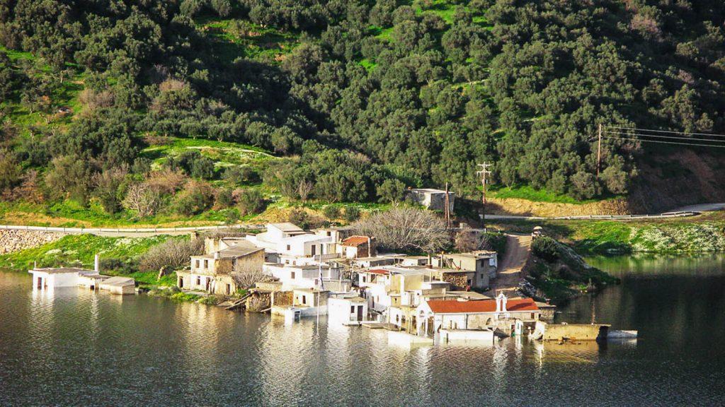 Sfendili, skęstantis kaimas. Kreta, Graikija | Mano Kreta