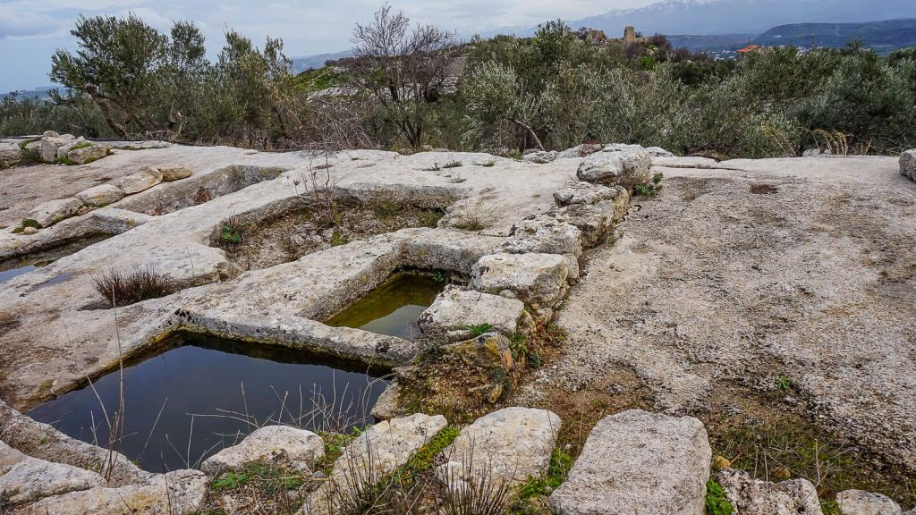 Vyndarių tvirtovė Kretoje – Castel del Corner. Kreta, Graikija   Mano Kreta