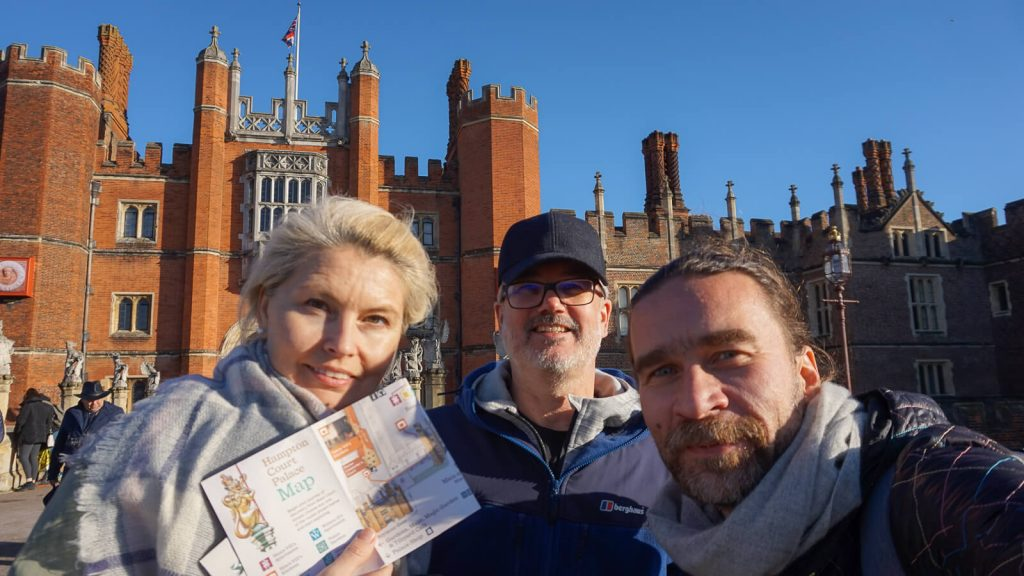 Kiek Anglijoje yra Graikijos? III dalis – Karališkieji Hampton (Hemptono) rūmai. UK | Mano Kreta