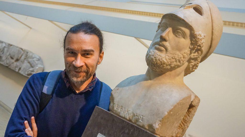 Kiek Anglijoje yra Graikijos? I dalis - Londonas, Britų muziejus. Prie Periklio biusto. | Mano Kreta
