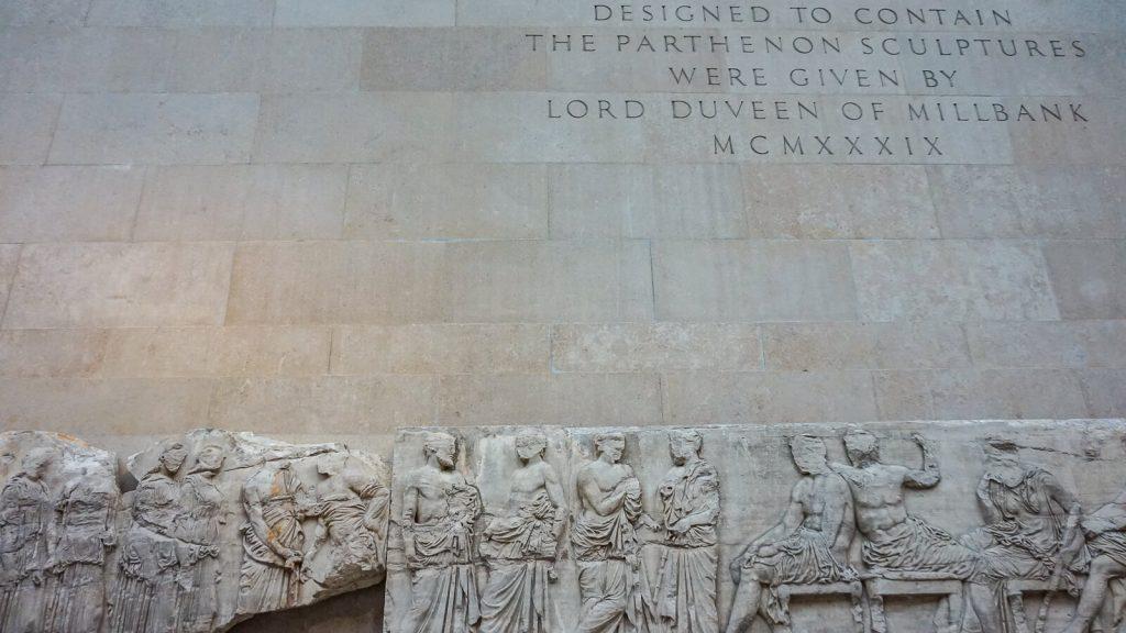 Kiek Anglijoje yra Graikijos? I dalis - Londonas, Britų muziejus. Duveeno galerija. | Mano Kreta