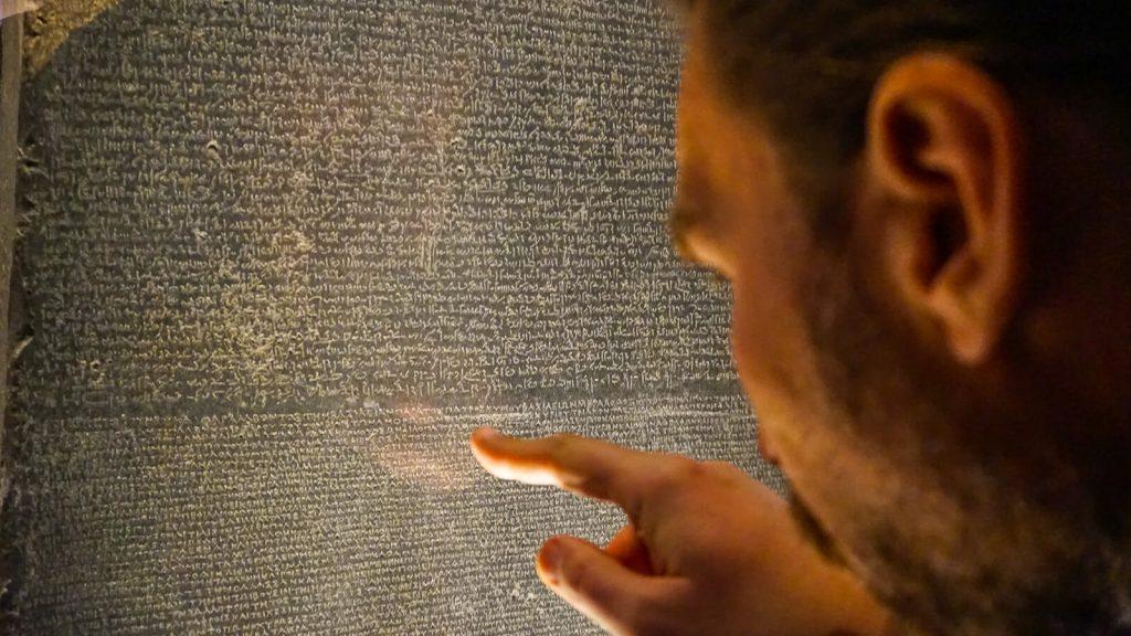 Kiek Anglijoje yra Graikijos? I dalis - Londonas, Britų muziejus. Rozetos akmuo. | Mano Kreta
