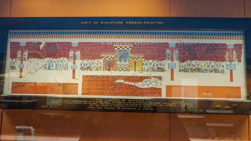 Kiek Anglijoje yra Graikijos? I dalis - Londonas, Britų muziejus. Knoso rūmų freskos gabaliukas. | Mano Kreta