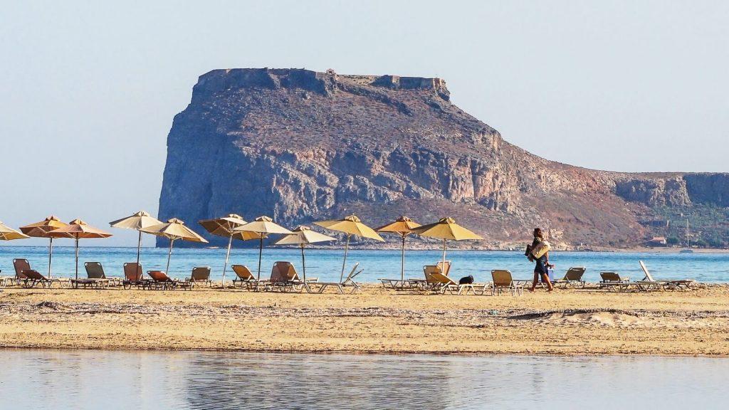 Imeri Gramvousa. Sala prie Balos lagūnos. Kreta, Graikija   Mano Kreta