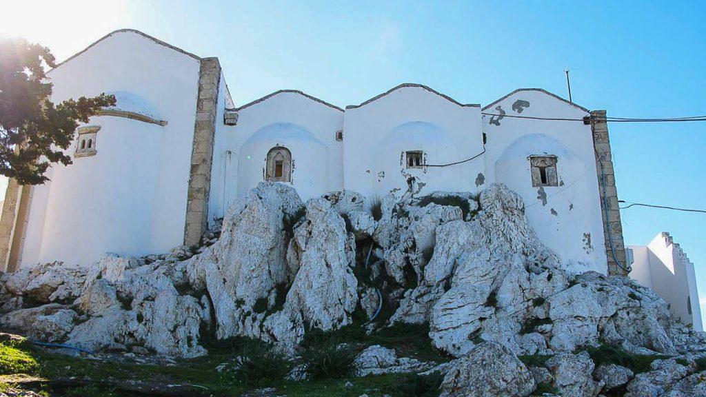 Jiouchtas – šventas Kretos kalnas. Afendis Christou cerkvė. Kreta, Graikija | Mano Kreta