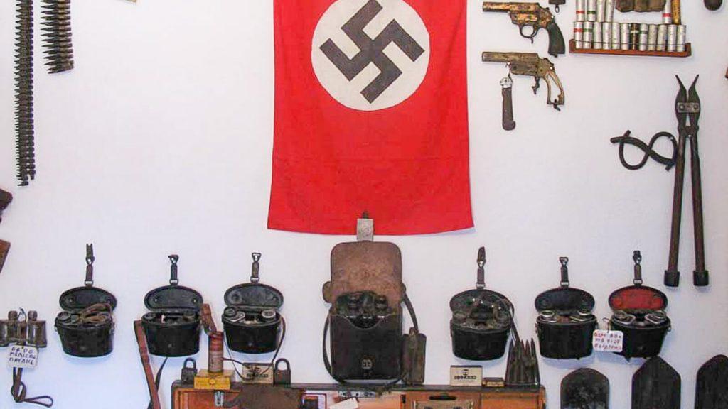 Karo muziejus Kares kaime – kretiečių drąsos liudytojas. Kreta, Graikija   Mano Kreta