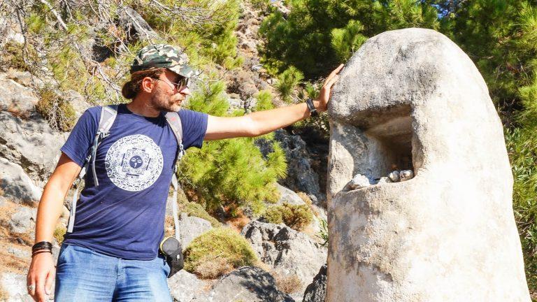 Koplytstulpis. Kreta, Graikija | Mano Kreta