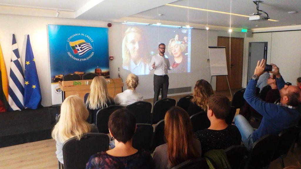 Graikijos ir Kipro lietuvių sąskrydis. Dalyvių konferencija. Kreta, Graikija | Mano Kreta