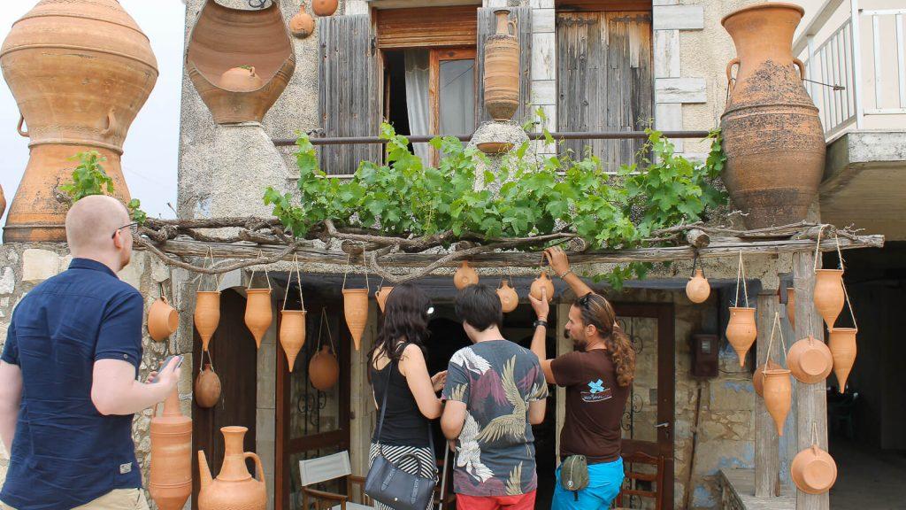 Kretos prisilietimai. Margarites kaime. Kreta, Graikija | Mano Kreta