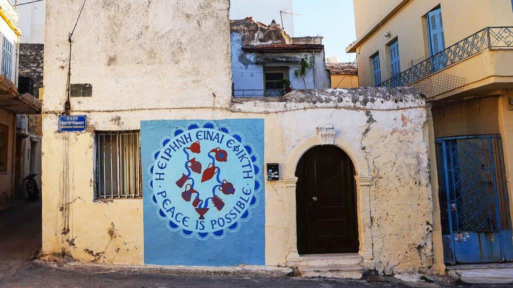 Lakkos Heraklione - kaip Vilniaus Užupyje. Pirmieji žingsniai į taikų Lakkos rajoną. Kreta, Graikija | Mano Kreta