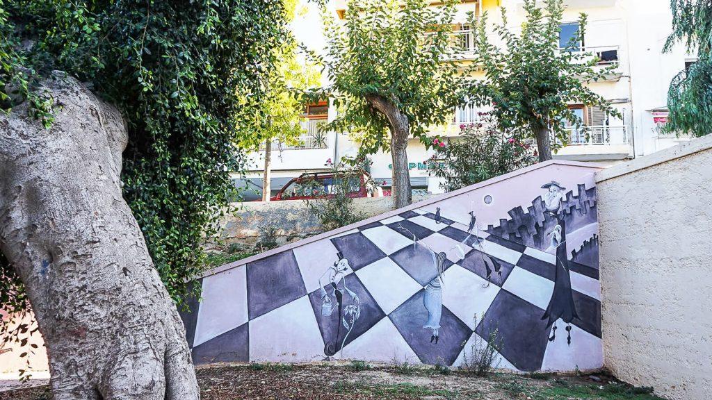 Lakkos Heraklione - kaip Vilniaus Užupyje. Laiptai Lakkos rajone. Kreta, Graikija | Mano Kreta