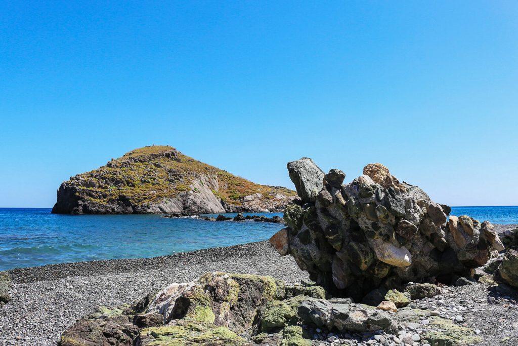 Paplūdimys prie Lassea. Kreta, Graikija | Mano Kreta