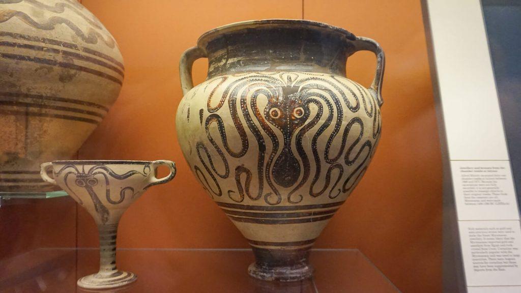 Kiek Anglijoje yra Graikijos? I dalis - Londonas, Britų muziejus. Aštuonkojis. | Mano Kreta