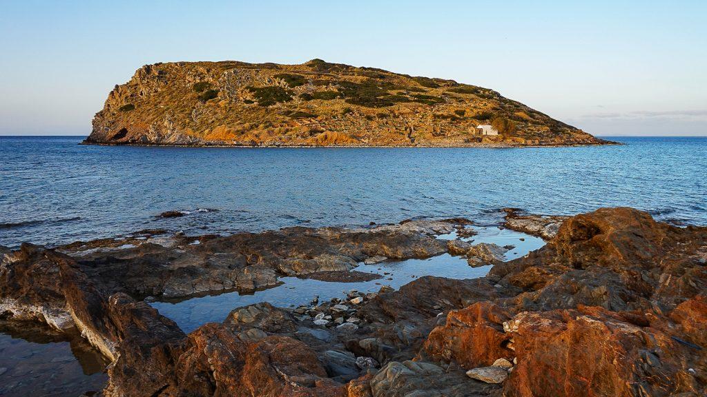 Mochlos sala prie Mochlos žvejų kaimelio. Kreta, Graikija | Mano Kreta