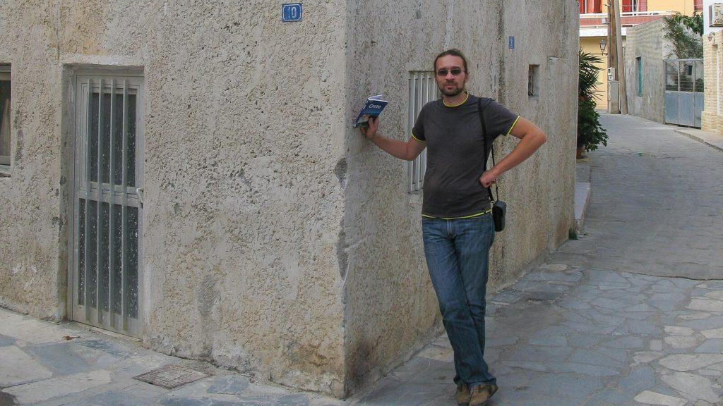 Napoleonas Kretoje. Prie namo numeris 10. Kreta, Graikija | Mano Kreta