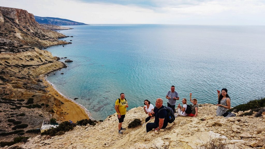 Norai pildosi! puiki kompanija ant Nisos smiltainio kyšulio. Kreta, Graikija | Mano Kreta