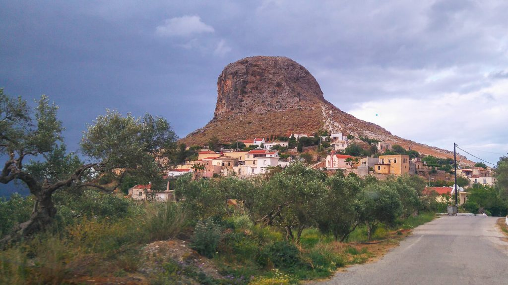 Roka: gražgarstė arba tvirtovė. Kreta, Graikija | Mano Kreta