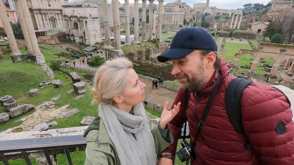 Savaitės viešnagė Romoje. Romos forumas. | Mano Kreta