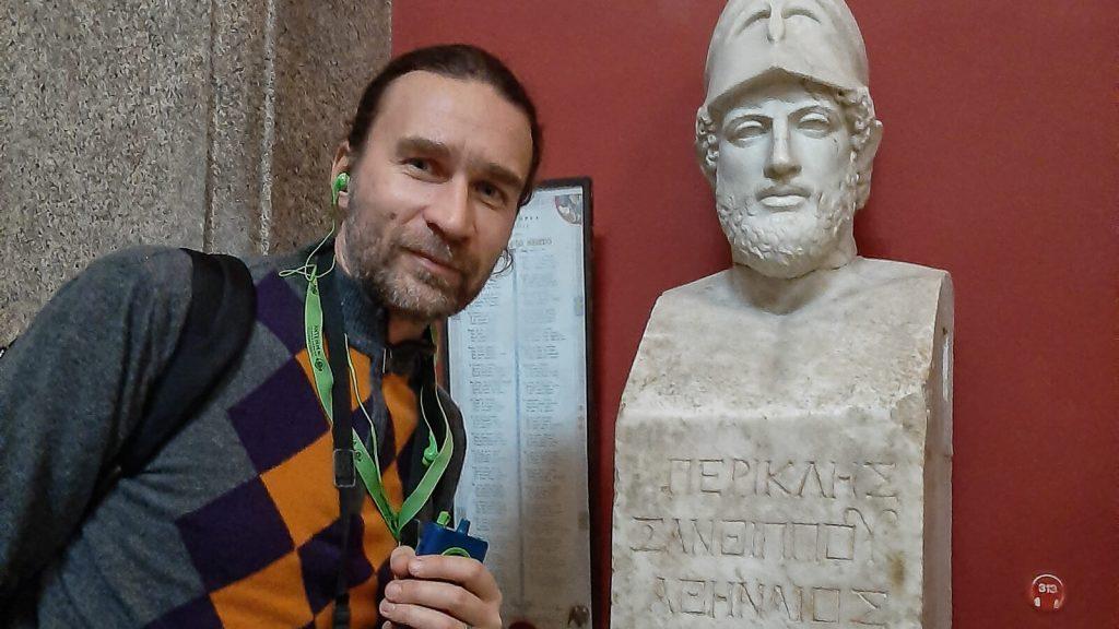 Savaitės viešnagė Romoje. Prie Periklio biusto, Vatikano muziejuje | Mano Kreta