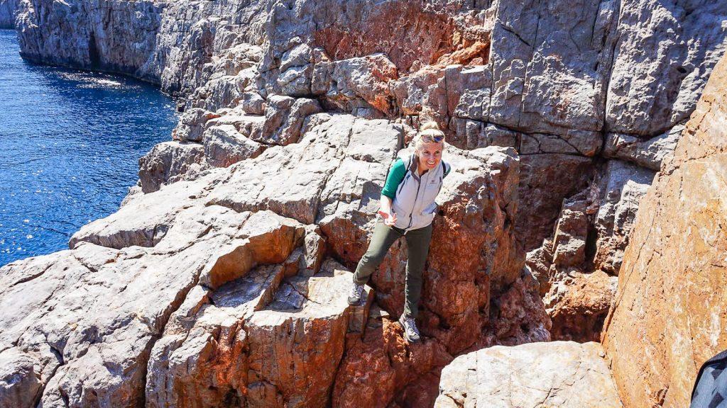Stavros kyšulys. Lipame uolomis. Kreta, Graikija | Mano Kreta