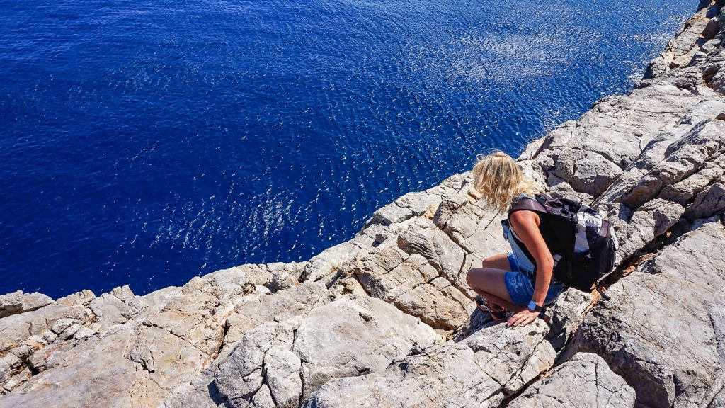 Stavros kyšulys. Jūros mėlynė. Kreta, Graikija | Mano Kreta