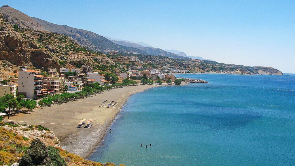Tsoutsouras – gydomojo vandens paplūdimys. Kreta, Graikija | Mano Kreta