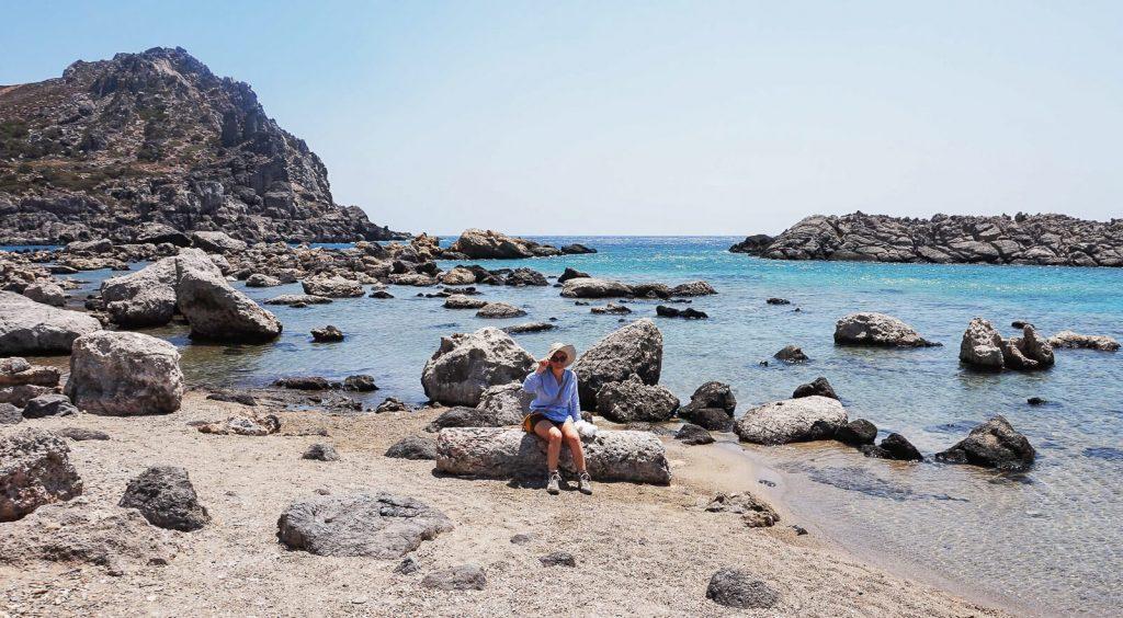 Viena: antikos griuvėsiai laukiniame Kretos paplūdimyje. Kreta, Graikija | Mano Kreta