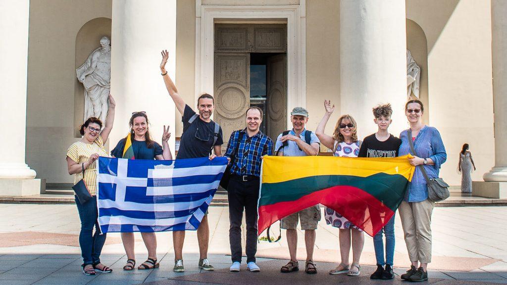 Kiek Vilniuje yra Graikijos ir Kretos? Komanda pasivaikščiojimui po graikišką Vilnių. Vilnius, Lietuva | Mano Kreta