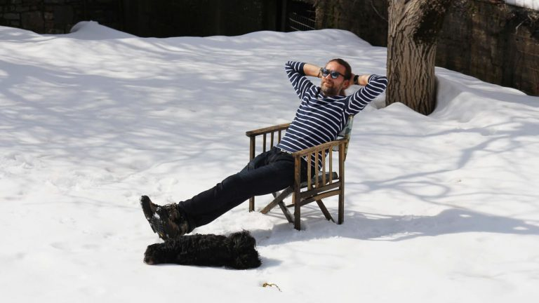 Žiemos žaidimai Kretos sniege. Gaudome saulės spindulius. Kreta, Graikija | Mano Kreta