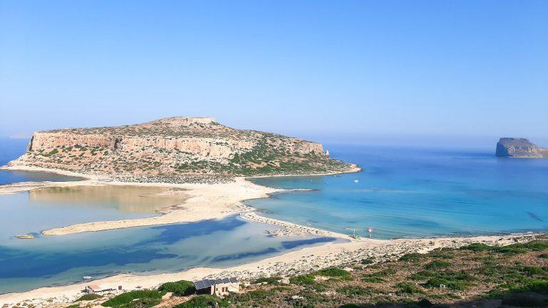 Balos lagūna, Tigani ir Gramvousos sala. Kreta, Graikija | Mano Kreta