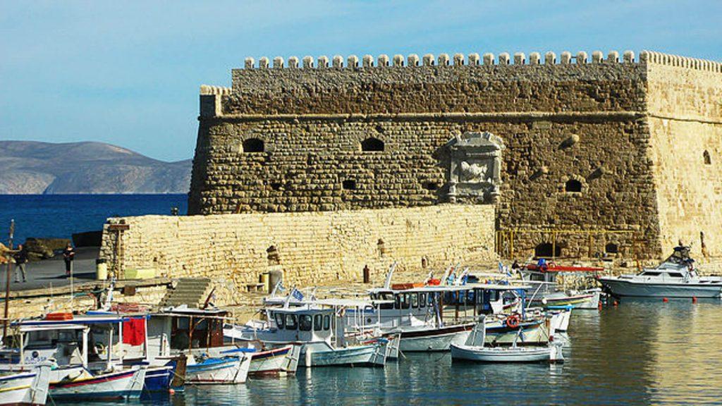 Heraklionas: Koules – Kretos sostinės venecijietiškoji tvirtovė. Kreta, Graikija | Mano Kreta