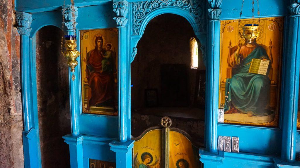 Agios Kyriakos cerkvė prie Lissos. Ikonostasas. Kreta, Graikija | Mano Kreta
